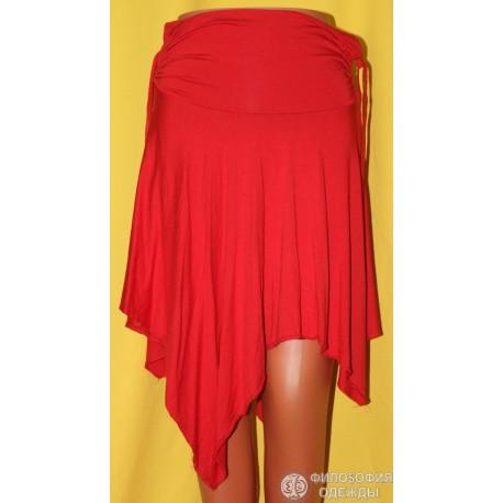 Юбка красная, 44-46 размер