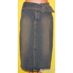 Юбка джинсовая Amisu, размер 46-48
