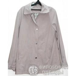 Женская светлая куртка, размер 50-52