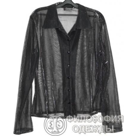 Женская полупрозрачная блузка, кофточка Lorsay, 50-52 размер