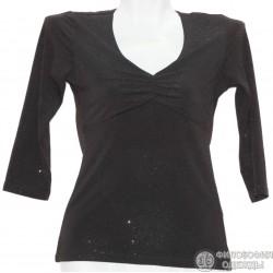 Женская блуза, кофточка, с блеском, размер 36-38