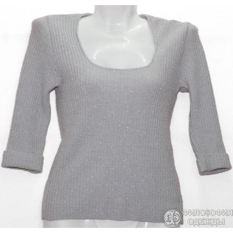 Женская блуза, кофточка, с блеском, размер 34-36
