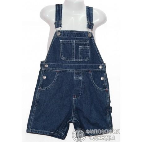 Детский джинсовый комбинезон на 3 года.