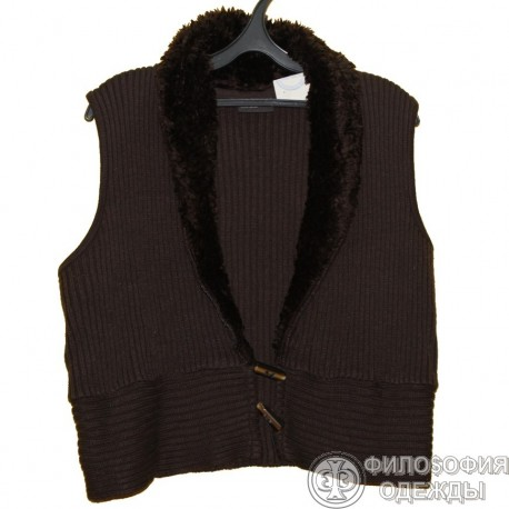 Женская вязаная жилетка OKAY, 48-50 размер