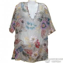 Женская блуза кофточка 48-50 размер, итальянский дизайн