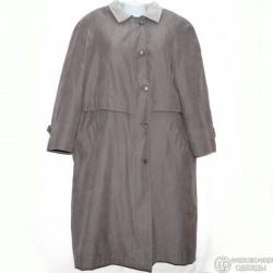 Утепленное пальто с отстегивающейся подкладкой
