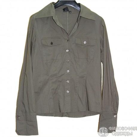 Женская блузка рубашка 42-44 размер, R&B mode