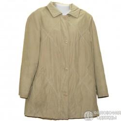 Удлиненная куртка под замшу 58 р.