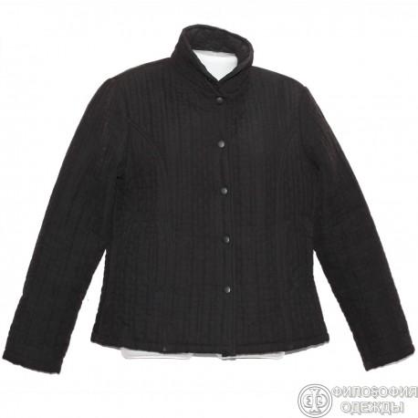 Красивая стеганая легкая куртка р.50-52