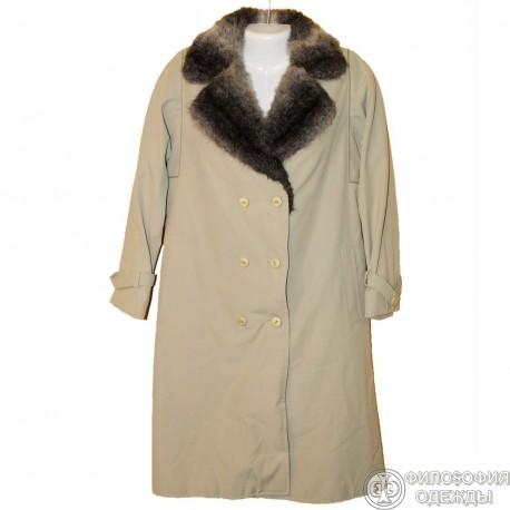 Женское утепленное пальто 44-46 размер Colomba Франция