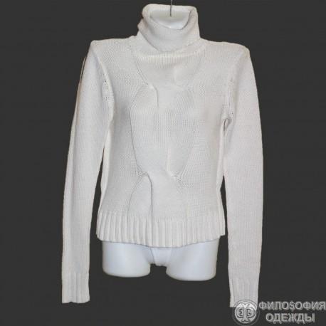Женский белый свитер 38-40 размер