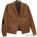 Женский коричневый пиджак, 46 размер