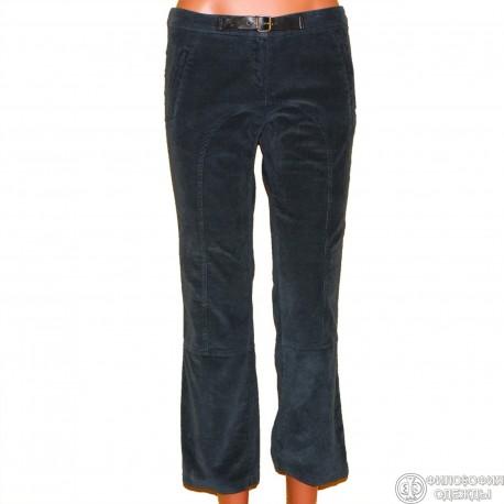 Женские вельветовые бриджи-брюки