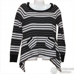 Интересный свитер в полосочку р.42-44 Gina
