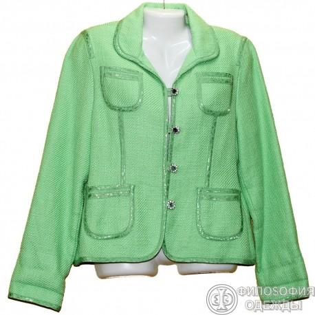 Очень красивый, яркий пиджак р.48-50