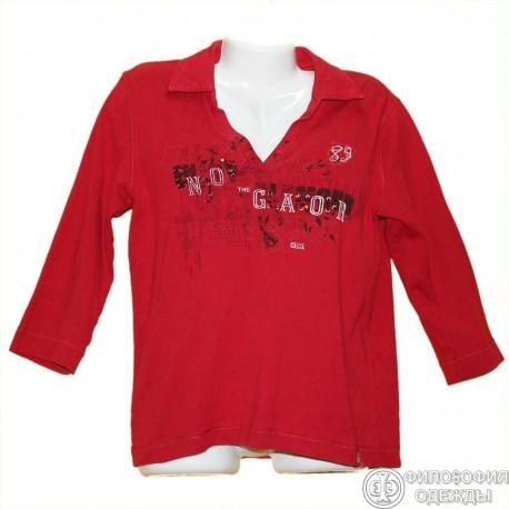 Красивая кофточка-футболка р.48-50