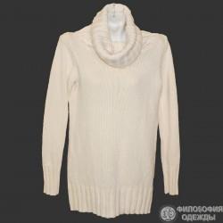 Удлиненный свитер, платье крупной вязки р.50-52