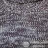 Милый, теплый свитер р.48-50 толстой вязки из меланжевой пряжи