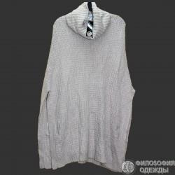 Сток. Женское вязаное пончо Сristian Lay, размер 48-50