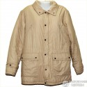 Светлая мужская куртка р.56-58 с капюшоном