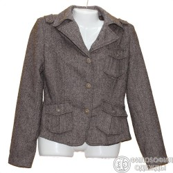 Твидовый пиджак р.46
