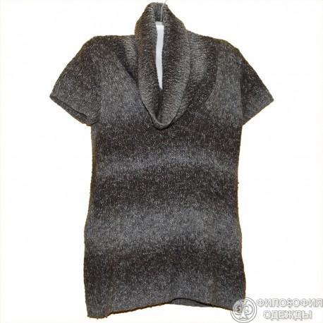 Теплое платье-туника р.50
