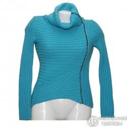 Модный необычный свитер р.36-38