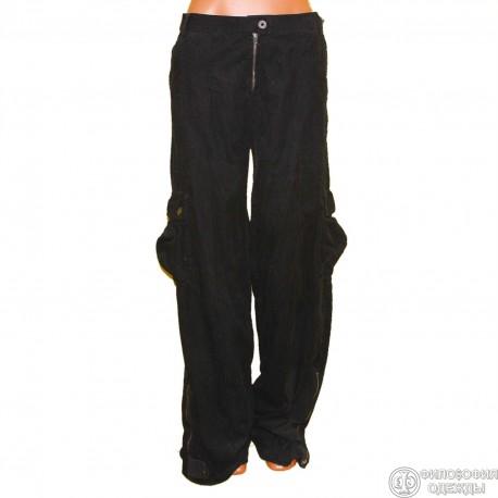 Легкие вельветовые удобные брюки