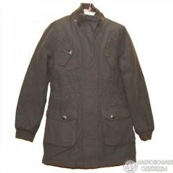 Очень практичное джинсовое пальто р. 38-40