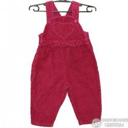 Хорошенький бордовый комбинезончик для ребенка 3-6 месяцев