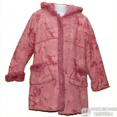 Ну очень симпатичное пальтишко для модницы 8 лет
