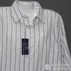 Отличная мужская новая рубашка по воротнику р.44
