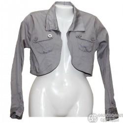 Хлопковый легкий пиджачок р.40-42
