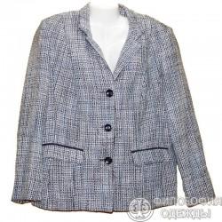 Клетчатый пиджак р.54-56