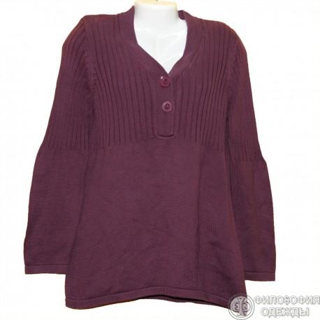 Фиолетовая туника-платье р.48-50