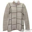 Красивый теплый свитер р.52-54