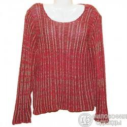 Меланжевый свитер р.54-56