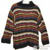 Очень теплый легкий красивый свитер р.58-60