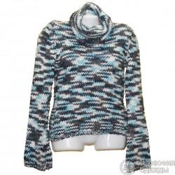 Красивый меланжевый свитер р.42-44