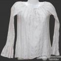 Легкая хлопковая блузка р.38-40