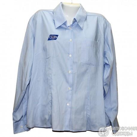 Хлопковая блуза р.54-56