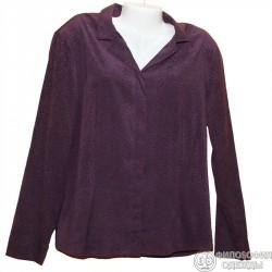 Плотная блузка-пиджак р.50-52