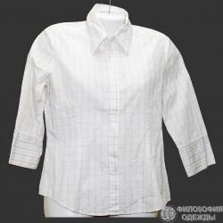 Хпопковая тонкая блузка р.46-48