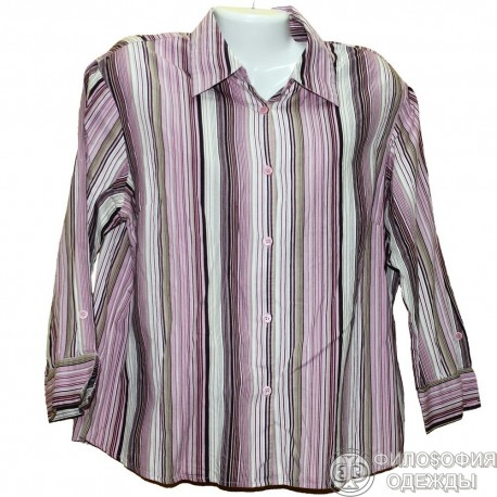 Хлопковая блузка р.52-54