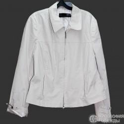 Женская светлая легкая куртка QS, 48-50 размер секонд хенд