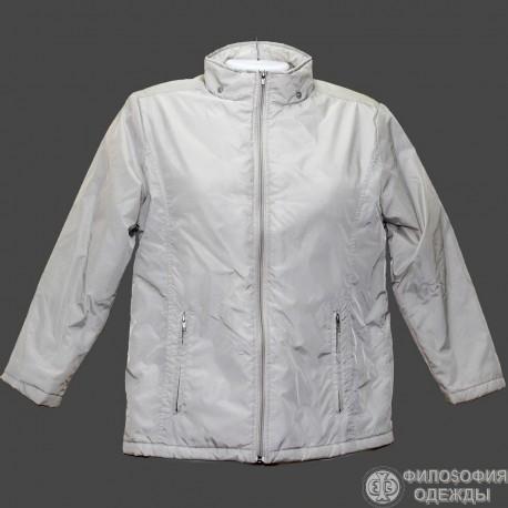 Легкая утепленная куртка р.44-46