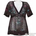 Полупрозрачная блузка р.44-46
