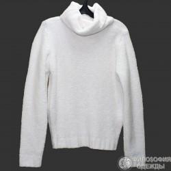 Женский белый свитер, 46-48 размер
