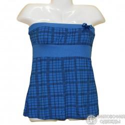 Очаровательное синее платье р. 42-44-46