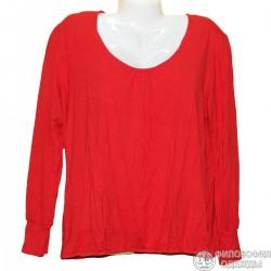 Женская красная блузка р. 54-56